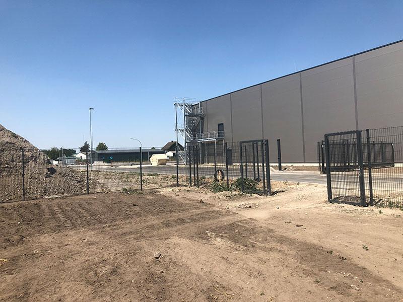 Produktionsgebäude fertiggestellt
