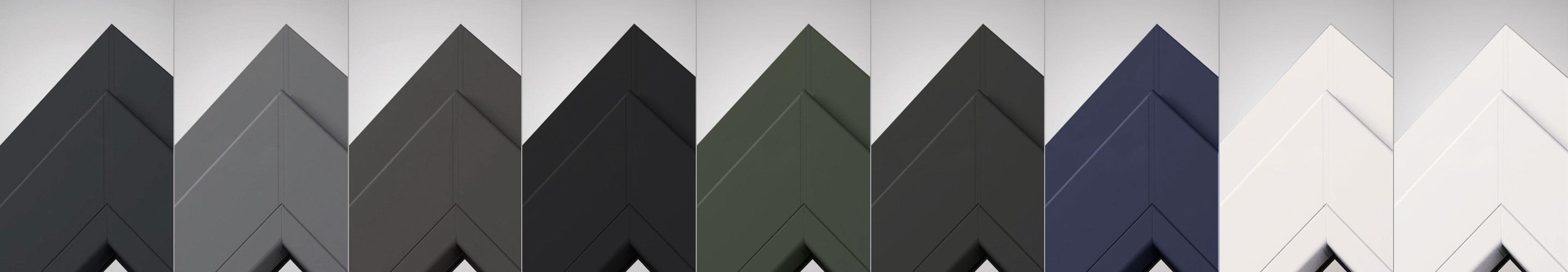 VEKA spectral: Dekorfolien für Fenster in matt