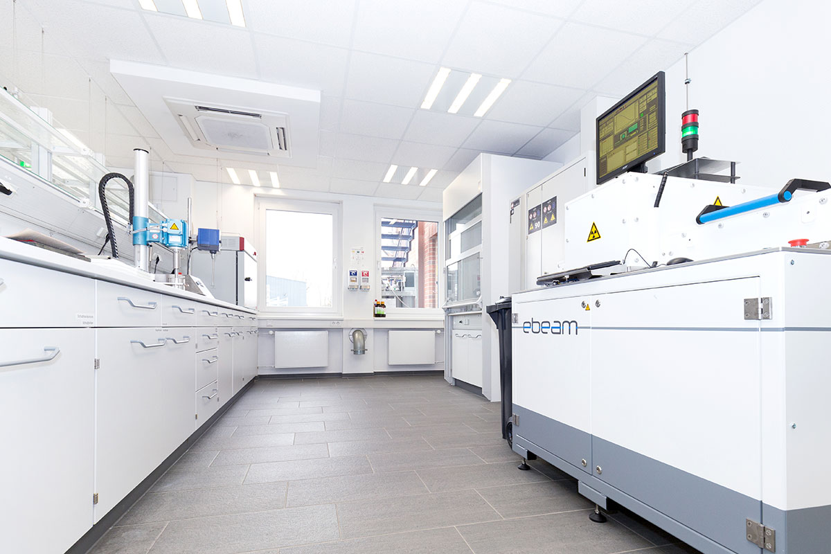 Labordienstleistungen für Oberflächen